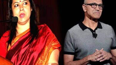 Photo of Literate needs to be educated: Lekhi targets Nadella over CAA