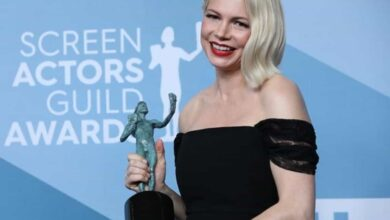 Photo of Michelle Williams remembers Ben Kingsley after SAG Awards win
