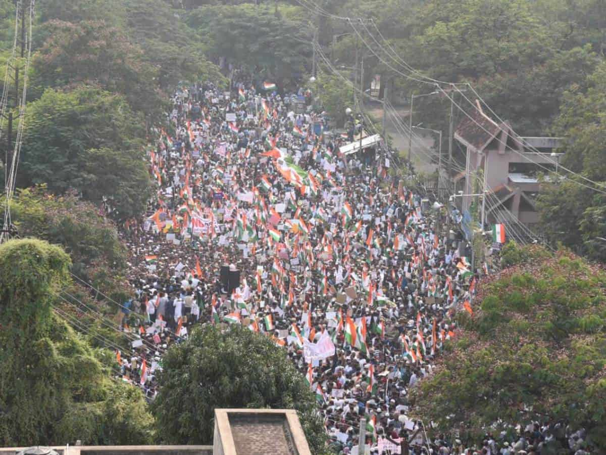 Hyderabad: Cops issue notices to accused of Million March cases