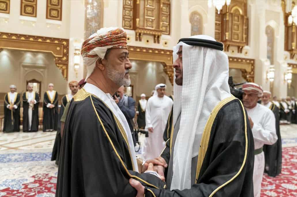 सुल्तान की मृत्यु के बाद ओमान में जुटे कई देशों के गणमान्य व्यक्ति 5