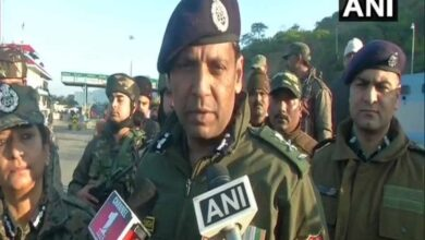 Photo of Three terrorists killed in encounter on Jammu-Srinagar highway