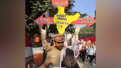 Photo of Mumbai Marathon: Runners spread awareness regarding various social issues