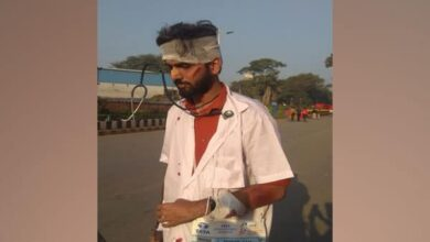 Photo of Mumbai Marathon: Participant raises concern over attacks on doctors