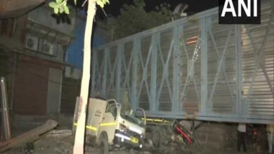 Photo of Construction foot overbridge collapses in Mumbai