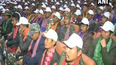 Photo of Over 1,600 cadres of NDFB lay down arms in Assam