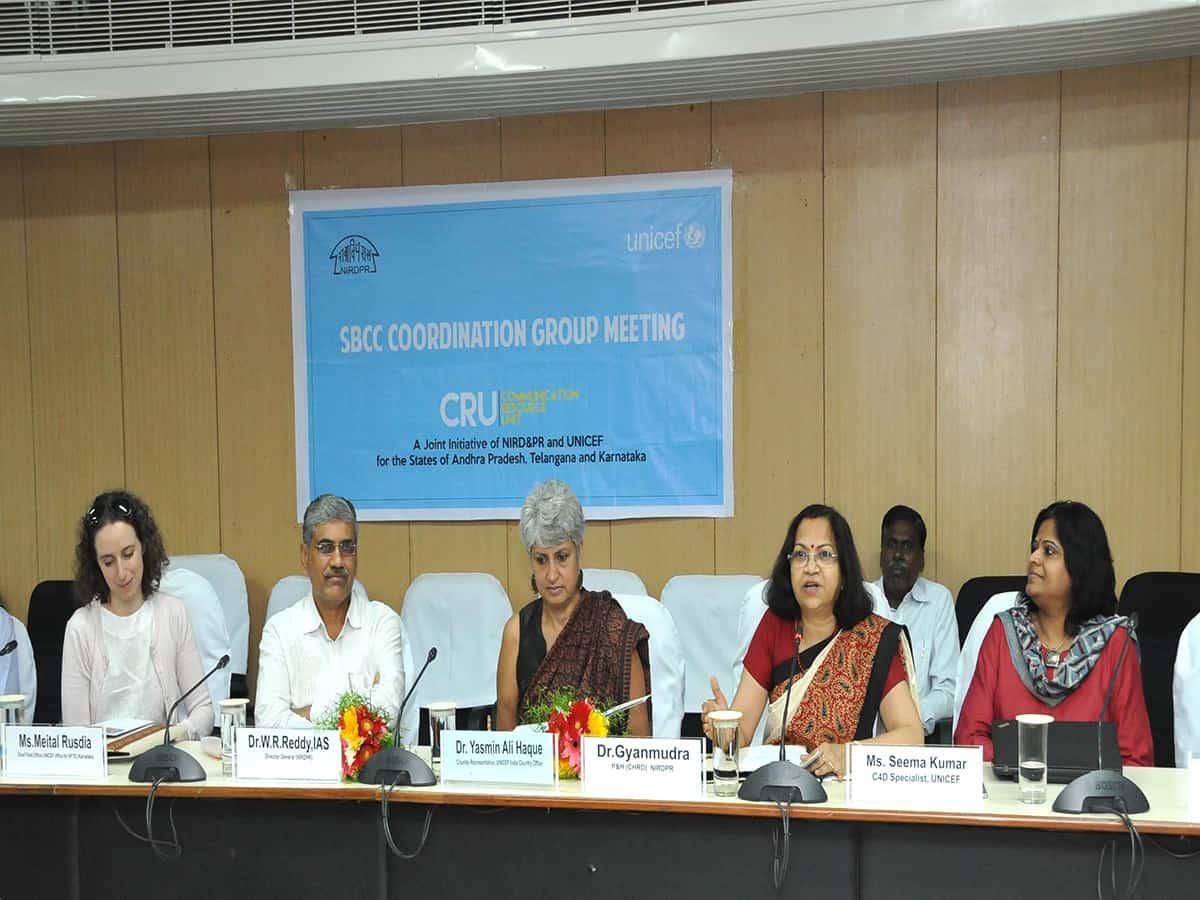 NIRDPR and UNICEF establish Communication Resource Unit