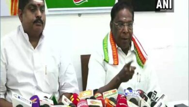 Photo of Will resign if proven guilty in land-grabbing case: Narayanasamy