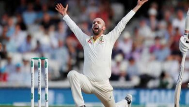 Photo of Nathan Lyon records his first-five wicket haul at SCG