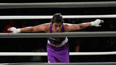 Photo of Champion Nikhat Zareen enters quarters
