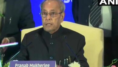 Photo of Gandhi never accepted India's division on religious lines:Pranab