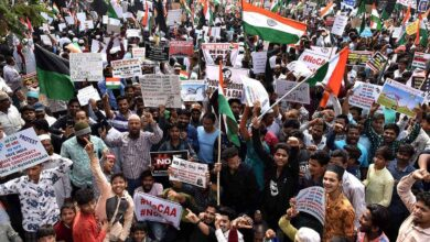 Photo of Hyderabad tells a different story through anti-CAA protest