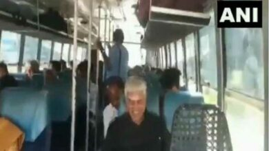 Photo of Paid dues,take petrol minister travels by public bus