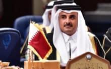 Qatar Emir Sheikh Tamim in Iran amid regional crisis