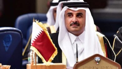 Photo of Qatar Emir Sheikh Tamim in Iran amid regional crisis