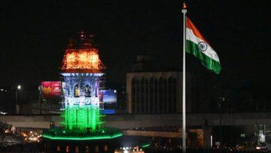 Photo of Moazzam Jahi market gets illuminated on 26th January