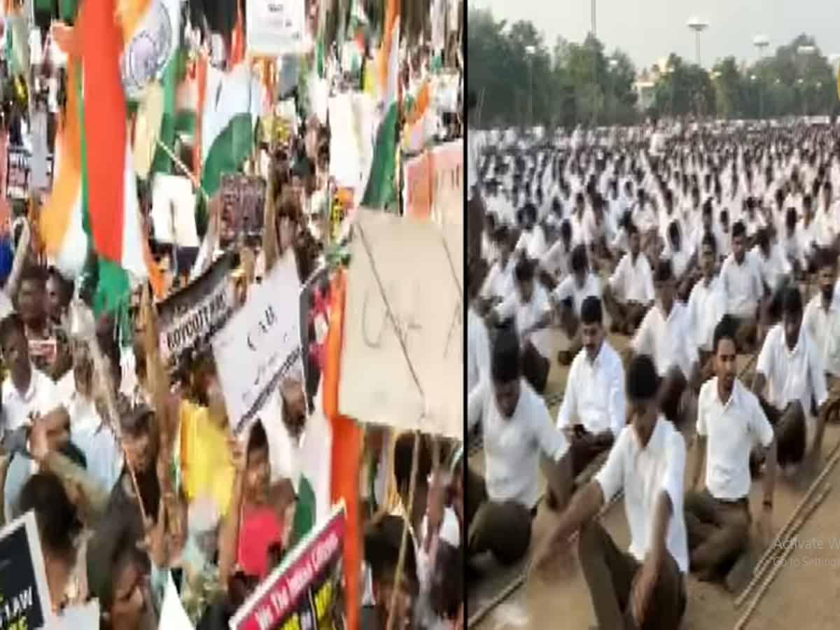 Who is more Nationalist? RSS or Tukde Tukde Gang