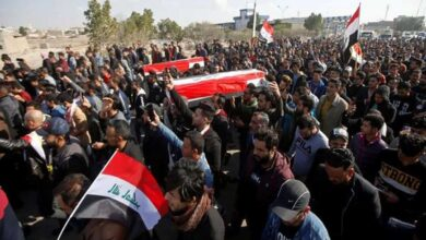 Photo of 2 Iraqi journalists shot dead while covering anti-govt protests