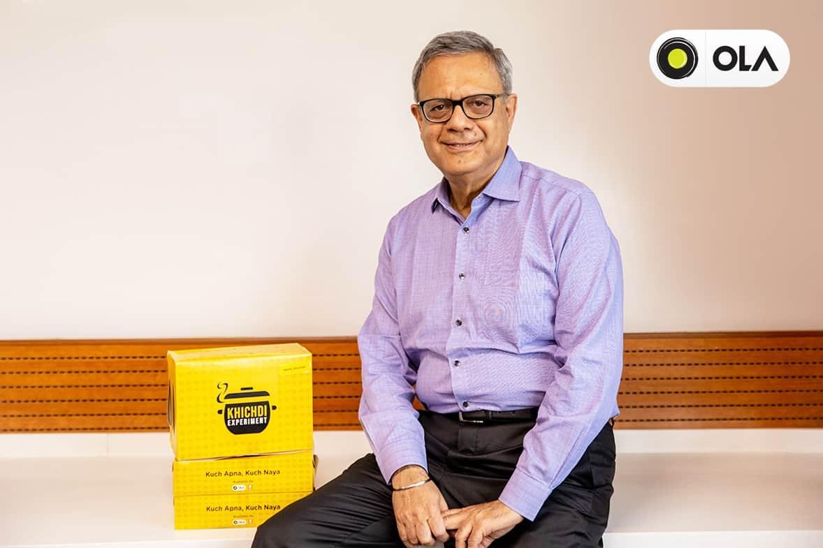 Senior FMCG Rajeev Bakshi joins Ola's Food Business