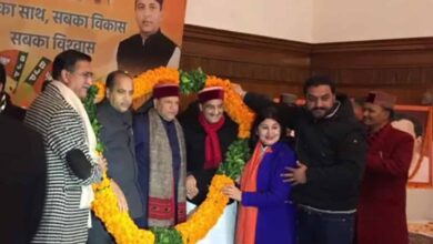 Photo of Rajiv Bindal elected as BJP Himachal unit chief