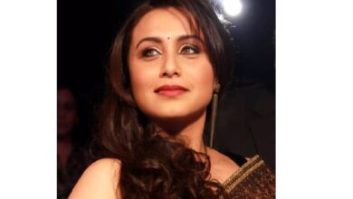 Photo of Rani Mukerji: Important to make films relevant to today's times