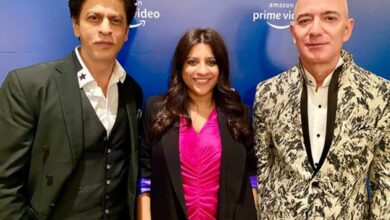 Photo of Shah Rukh Khan meets Jeff Bezos