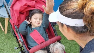 Photo of 'YES my baby boy, we did it,' tweeted Sania on winning return