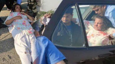 Photo of Shabana Azmi seriously hurt in car accident