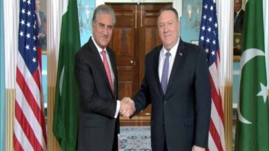 Photo of Pompeo meets Qureshi; discusses Iran, Afghanistan, Kashmir issue