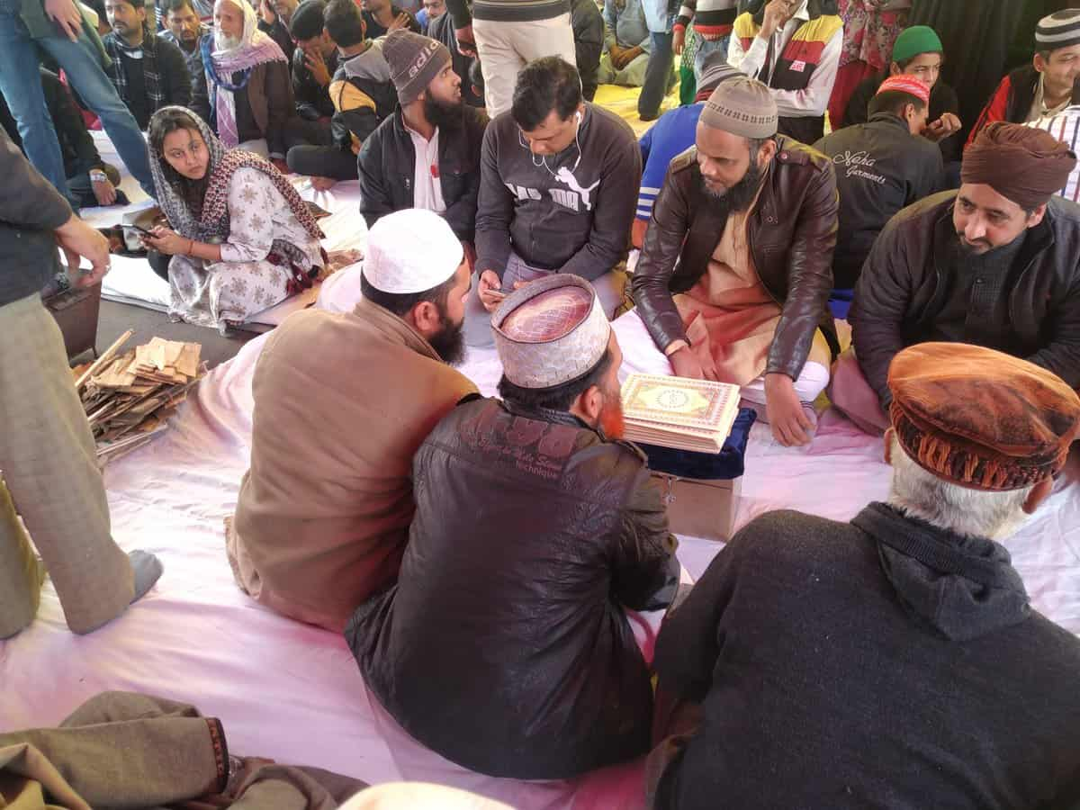 Gita, Bible & Quran Recited in Inter-Faith ceremony at Shaheen Bagh