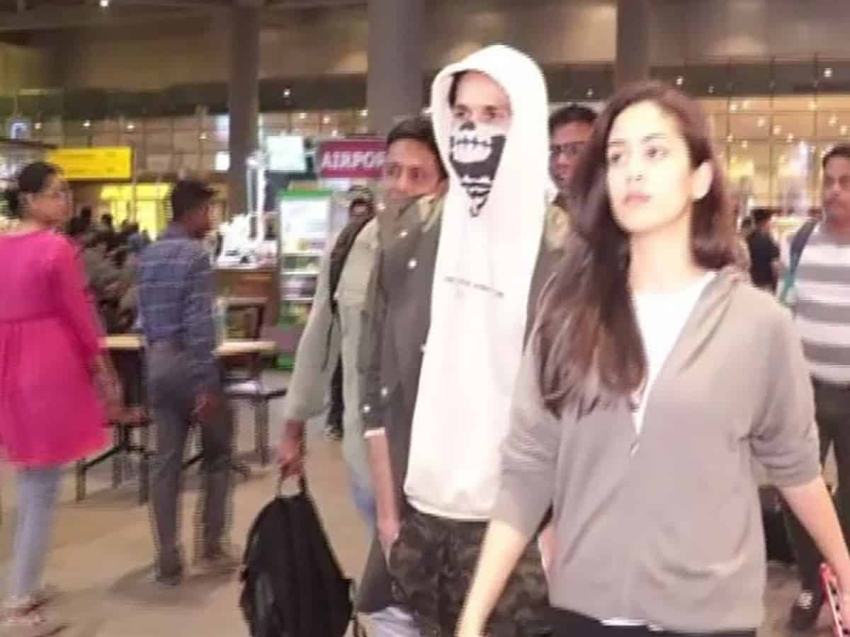 Shahid Kapoor returns to Mumbai after getting injured at sets of 'Jersey'