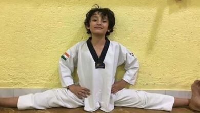 Photo of Sanjay Dutt proud of his 'little Karate kid'