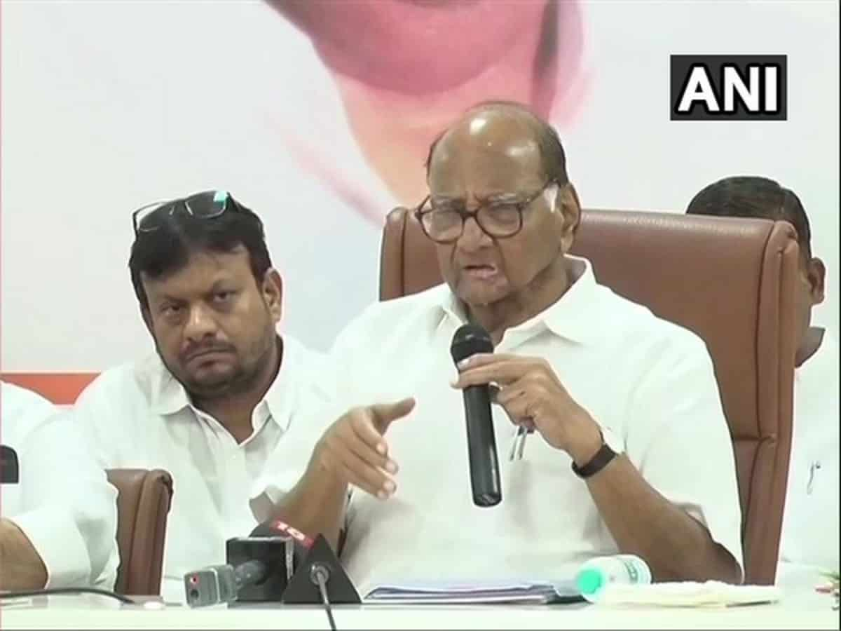 During Maha polls, Muslims didn't vote for BJP: Sharad Pawar