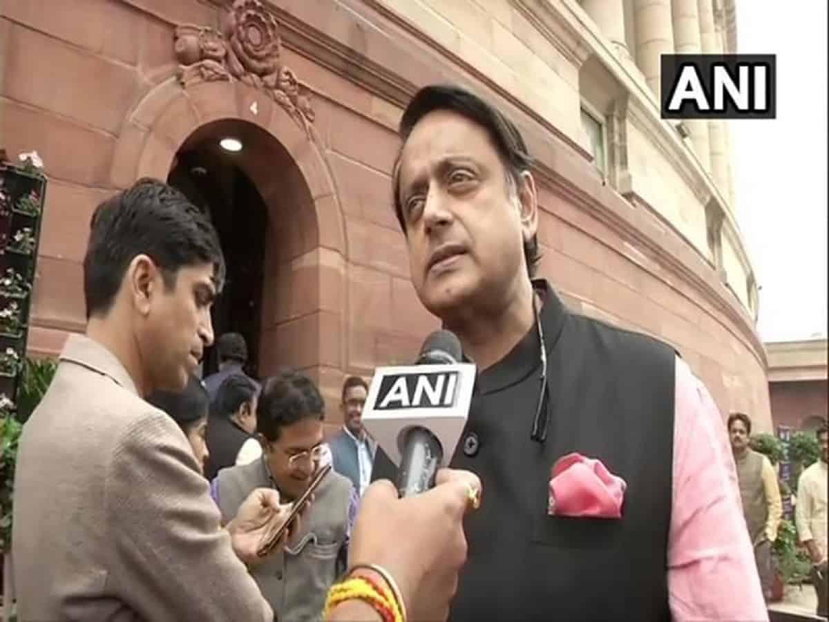 BJP's priority is to create 'Hindu Rashtra': Shashi Tharoor