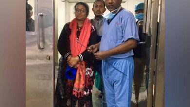 Photo of Archer Shivangini Gohain shifted to ICU after medical procedure