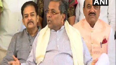 Photo of Siddaramaiah holds legislative party meet at Vidhana Soudha