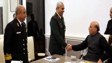 Photo of Director General NCC meets Rajnath Singh in Delhi