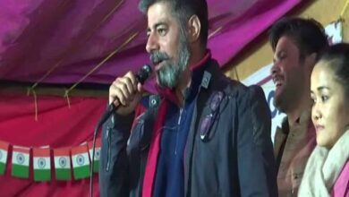 Photo of CAA-NRC: Actor Sushant joins protests at Shaheen Bagh