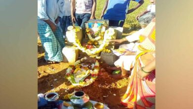 Photo of Locals construct temple in memory of monkey in K'taka