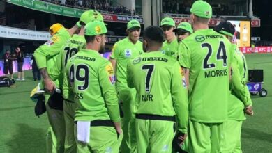 Photo of Sydney Thunder pick unchanged squad for BBL knockout clash