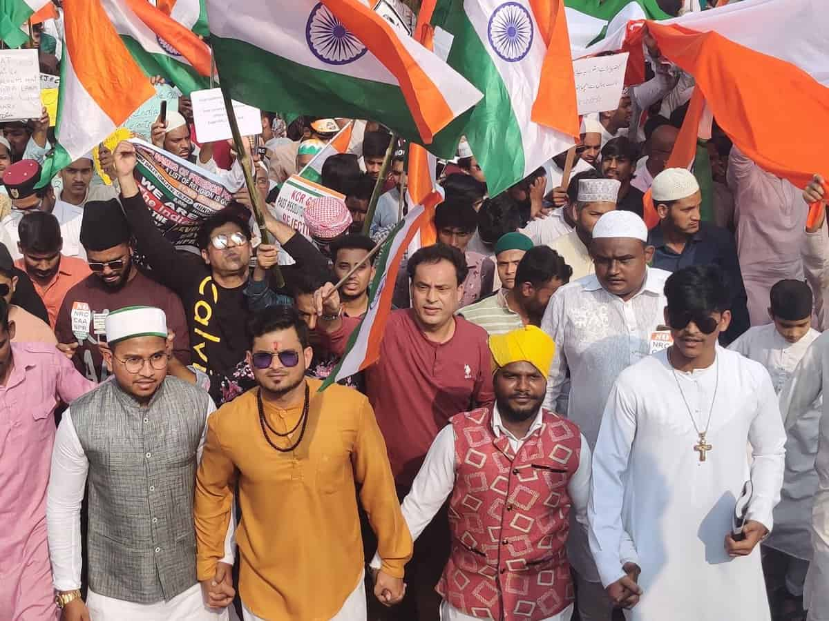 Tiranga rally: People from all walks of life joins the protest
