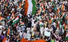 CAA-NRC-NPR: Hyderabad witnesses massive 'Tiranga Rally'