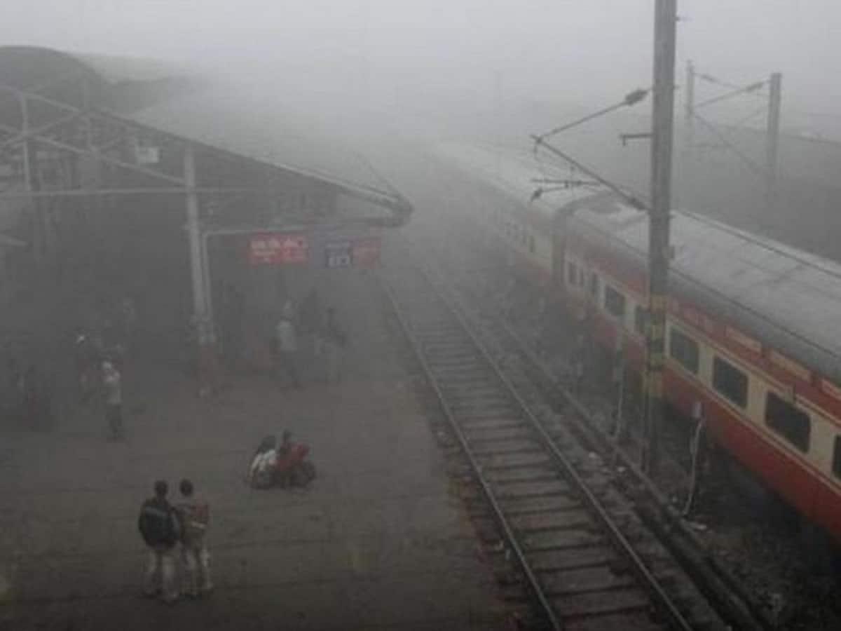 14 Delhi-bound trains delayed due to fog