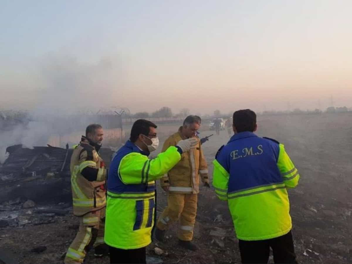 Ukraine jet crashes in Iran