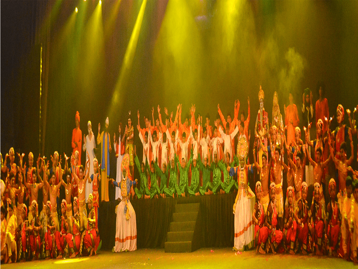 Unity is Divinity, a theater play staged in the backdrop of CAA