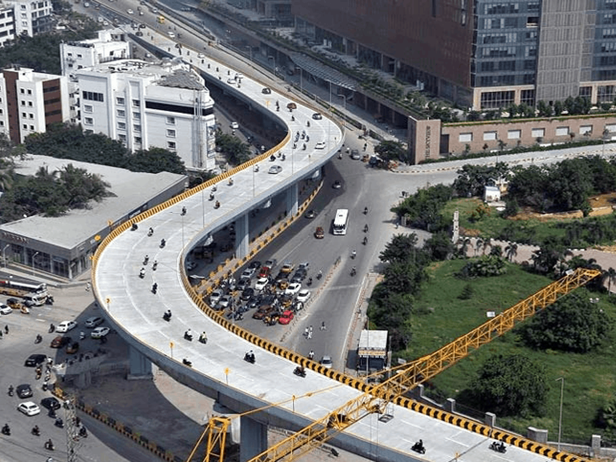 Hyderabad's Biodiversity flyover reopened after a major accident