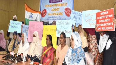 Photo of Hyderabadi women urge KCR to clarify state's stand on NPR-NRC