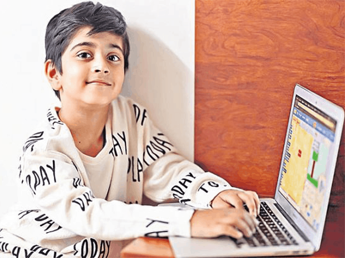 Hyderabadi 7-yr-old child creates app for healthy eating habits