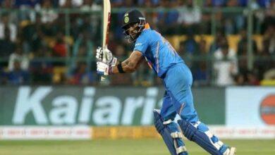 Photo of Kohli becomes fastest to score 5000 ODI runs as skipper