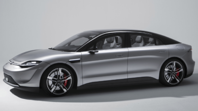 Photo of Sony reveals Vision-S electric car concept at CES 2020