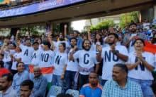 'No CAA-NRC-NPR' reaches Wankhede during India vs Australia